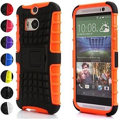 Için HTC Kılıf Şoka Dayanıklı / Süslü Pouzdro Arka Kılıf Pouzdro Zırh Sert Silikon HTC