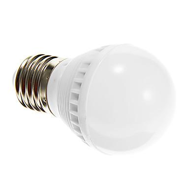 E26/E27 Bulb LED Glob G45 10 led-uri SMD 2835 Decorativ Alb Cald 250-280lm 2700-3200K AC 220-240V