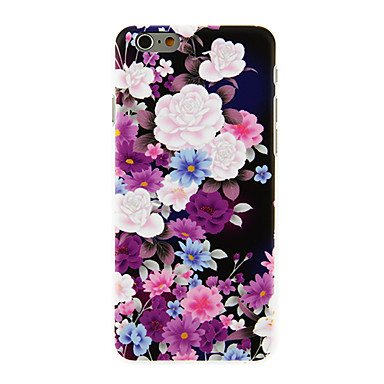 Maska Pentru Apple iPhone 6 iPhone 6 Plus Model Capac Spate Floare Greu PC pentru iPhone 6s Plus iPhone 6s iPhone 6 Plus iPhone 6
