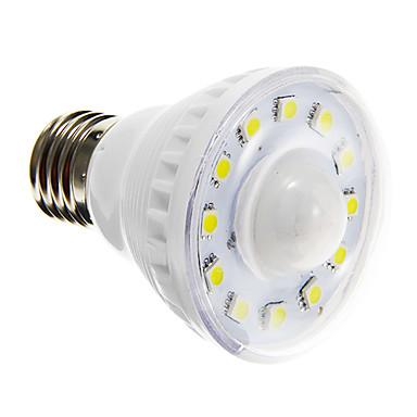 2W E26/E27 LED-spotlampen A60 (A19) 12 leds SMD 5050 Sensor Warm wit Koel wit 85-150lm 6000-6500K AC 220-240V