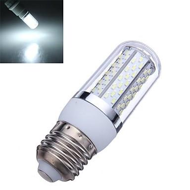 e26 / e27 led mısır ışıkları t 120 smd 3014 720lm doğal beyaz 6000-6500k ac 85-265v
