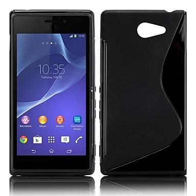 Για Θήκη Sony / Xperia Z3 Ανθεκτική σε πτώσεις tok Πίσω Κάλυμμα tok Μονόχρωμη Μαλακή TPU για SonySony Xperia Z2 / Sony Xperia Z3 / Sony