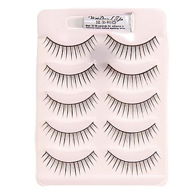 5 Pairs Natural False Eyelash