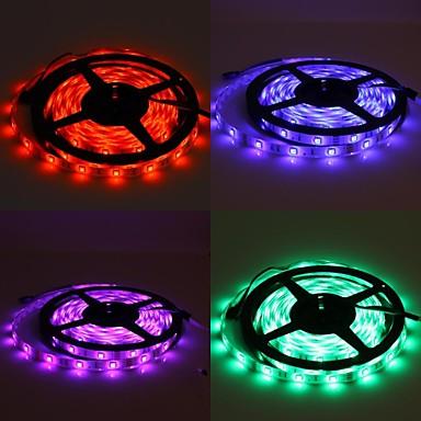 5m impermeabil 150x5050 lumina rgb smd lampă bandă a condus cu 24 de buton set telecomanda (12V)