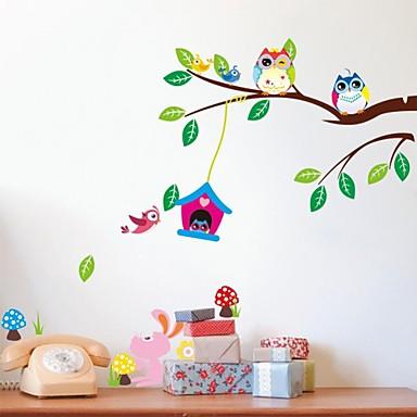 Τοπίο Ζώα Νεκρή Φύση Αναψυχή Φαντασία Βοτανικό Αυτοκολλητα ΤΟΙΧΟΥ Animal αυτοκόλλητα τοίχου Διακοσμητικά αυτοκόλλητα τοίχου, Βινύλιο