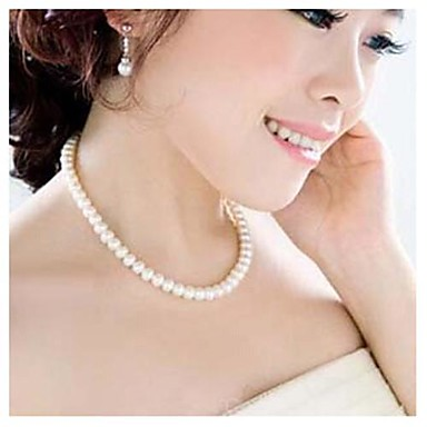 Women's Imitation Pearl Necklace