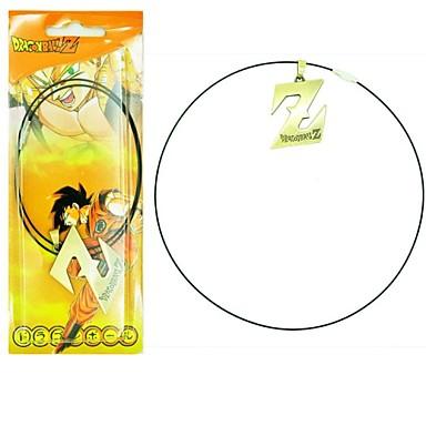 Κοσμήματα Εμπνευσμένη από Dragon Ball Cosplay Anime Αξεσουάρ για Στολές Ηρώων Κολιέ Ασημί Κράμα Ανδρικά / Γυναικεία