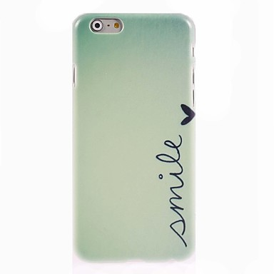 Smile Design Hard Case for iPhone 6 Plus