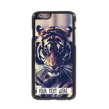 gepersonaliseerde geval tijger ontwerp metalen behuizing voor de iPhone 6 plus