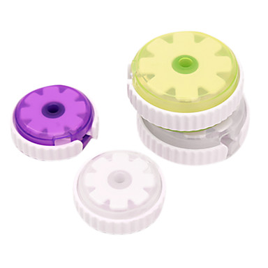 forme ronde écouteurs fil de câble câble de rangement de cordon enrouleur - grande taille (7 cm)