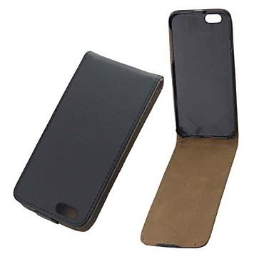cor sólida pu couro cobrindo todo o corpo e slot para cartão para o iPhone 6