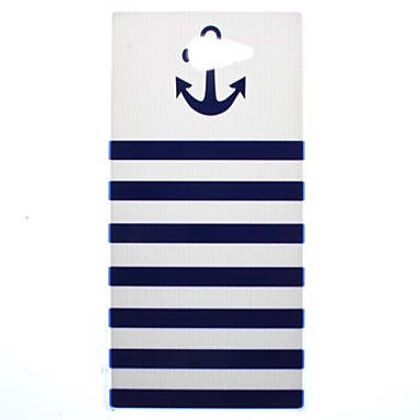 Boat Anchor Transparent Pattern PC Hard Case for Sony Xperia M2 S50h