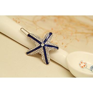 μόδα κορεάτικα bule επιχρυσωμένο φουρκέτες αστέρι κοσμήματα για τις γυναίκες σε κοσμήματα