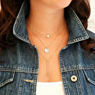 Perle Anhängerketten / Perlenkette - Perle Europäisch Golden Modische Halsketten 1pc Für Party, Alltag, Normal