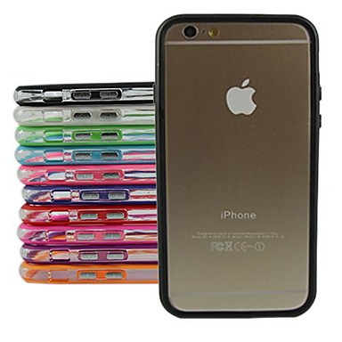 Protective TPU Bumper Frame Case for iPhone 6 Plus (Assorted Color)