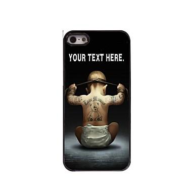 gepersonaliseerde geval jongen ontwerp metalen behuizing voor de iPhone 5 / 5s