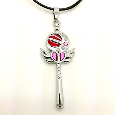 Mehre Accessoires Inspiriert von Sailor Moon Cosplay Anime Cosplay Accessoires Halsketten PU-Leder Aleación Damen neu