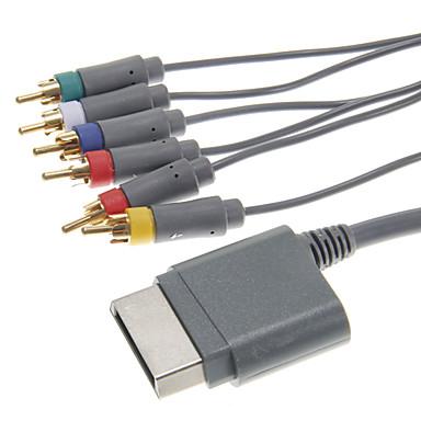component AV-kabel voor de Xbox 360 (8ft, zwart)