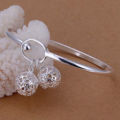 Dames Cuff armbanden Verzilverd Zilver Sieraden Voor Bruiloft Feest Dagelijks Causaal 1 stuks