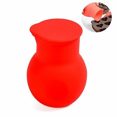 Εργαλεία ψησίματος Σιλικόνη Φτιάξτο Μόνος Σου / Δημιουργικό για κέικ / Σοκολατί Εργαλεία για Ψήσιμο & Ζύμες 1pc