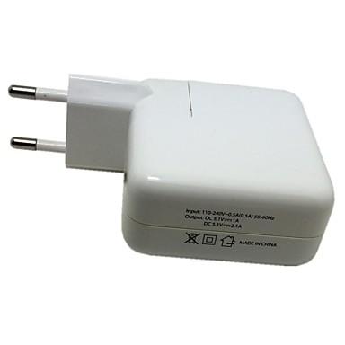 Οικιακός φορτιστής Φορητός φορτιστής Φορτιστής USB τηλεφώνου Ευρωπαϊκή Πρίζα Πολλαπλές θύρες 4 θύρες USB 2.1A 1A AC 100V-240V Για iPad