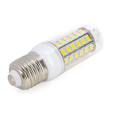 5.5W 500-300 lm E26/E27 LED Λάμπες Καλαμπόκι T 56 leds SMD 5730 Θερμό Λευκό Ψυχρό Λευκό AC 220-240V