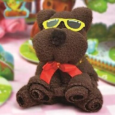 δώρο γενεθλίων αρκούδα ινών σχήμα δημιουργική πετσέτα (τυχαία χρώμα)