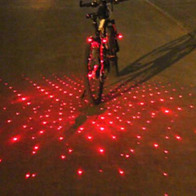 bar sonunda ışıklar / Bisiklet Arka Işığı / emniyet ışıkları Lazer / LED Bisiklet Işıkları Bisiklet Alarm, LED Işık, multi-aracı Batarya Bisiklete biniciliği / IPX-4
