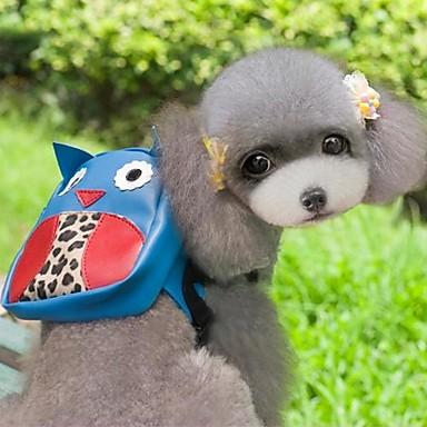 Gato Cachorro mochila Roupas para Cães Fofo Férias Desenhos Animados Azul Ocasiões Especiais Para animais de estimação