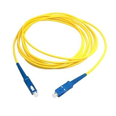 5m 15ft sc la fibra sc patch cord cablu de legătură mp simplex singur optic mod de transport gratuit rețea