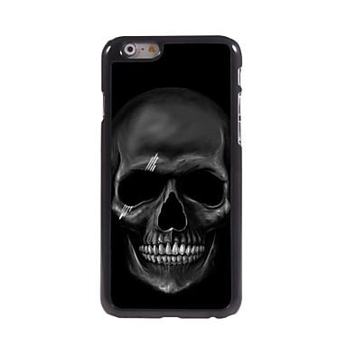 felle schedel patroon aluminium hard case voor de iPhone 6 plus iPhone-hoesjes