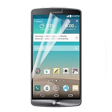 [3-pack] professionele hoge transparantie lcd kristalheldere screen protector met een reinigingsdoekje voor lg g3