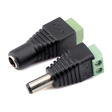 conector macho e famale para lâmpadas LED Faixa de luz 3528smd 5050smd fornecimento powe
