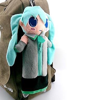 Tas geinspireerd door Vocaloid Hatsune Miku Anime/ Videogames Cosplayaccessoires Tas Fleece Heren Dames