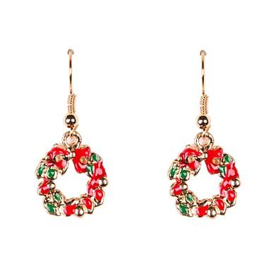 Damen Tropfen-Ohrringe - Weihnachten Ohrringe Für Party Alltag Normal