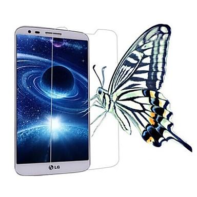 professionele hoge transparantie lcd kristalheldere screen protector met een reinigingsdoekje voor LG G2