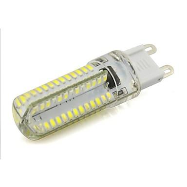 3.5W 240-260 lm G9 Luminárias de LED  Duplo-Pin 104 leds SMD 3014 Branco Quente Branco Frio AC 220-240V