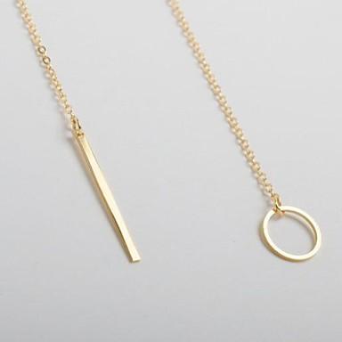 Damen Anhängerketten - Modisch Gold Modische Halsketten Für Party, Alltag, Normal
