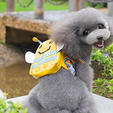 Gato Cachorro mochila Roupas para Cães Fantasias Prova-de-Água Casamento Animal Amarelo Ocasiões Especiais Para animais de estimação