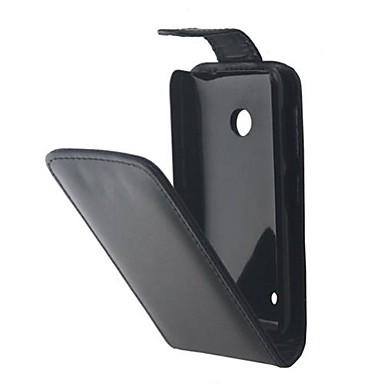 Για Θήκη Nokia Ανοιγόμενη tok Πλήρης κάλυψη tok Μονόχρωμη Σκληρή Συνθετικό δέρμα Nokia Nokia Lumia 530