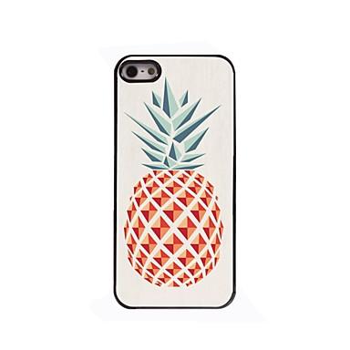 hoesje Voor iPhone 5 Apple iPhone 5 hoesje Patroon Achterkant Fruit Hard PC voor iPhone SE/5s iPhone 5