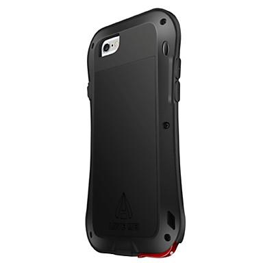 Voor iPhone 6 hoesje / iPhone 6 Plus hoesje Schokbestendig / Waterbestendig hoesje Volledige behuizing hoesje Effen kleur Hard Siliconen