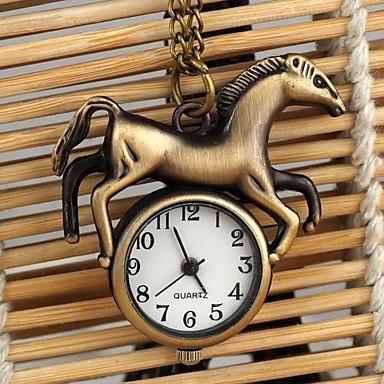 pentru Doamne Ceas La Modă Ceas colier Quartz Aliaj Bandă Bronz