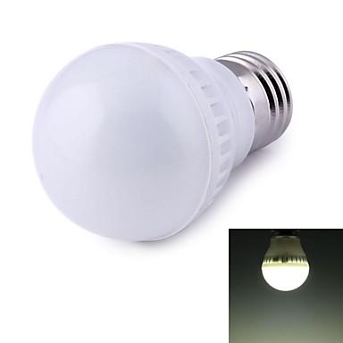 500 lm E26/E27 Bulb LED Glob 9 led-uri SMD 2835 Decorativ Alb Natural AC 220-240V