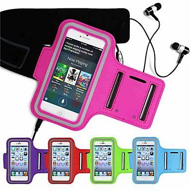 Hülle Für iPhone 6s Plus / iPhone 6 Plus / iPhone 6s mit Sichtfenster / Armband Armband Solide Weich Textil für