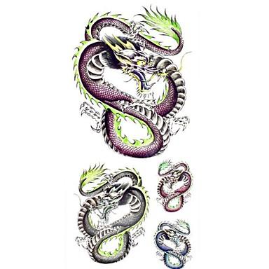 #(1) - #(18.5*8.5) - Πολύχρωμο Σειρά Άνιμαλ - Αυτοκόλλητα Τατουάζ - Μοτίβο/Waterproof - από Χαρτί για Γυναικεία/Girl/Ενήλικες/Εφηβικό