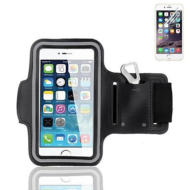 caso desporto braçadeira com protetor de tela para iphone 6s 6 mais