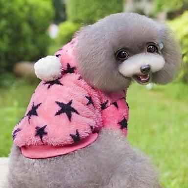 Katze / Hund Mäntel / Kapuzenshirts Hundekleidung Grün / Blau / Rosa Kord Kostüm Für Haustiere Cosplay / Hochzeit