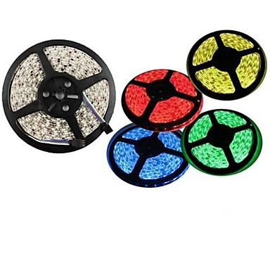 5m 300x5050 SMD warmweiß, rot, grün, blau, gelb LED-Streifen (12 V DC)