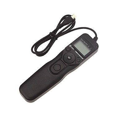 dengpin® rm-vpr1 weired timer afstandsbediening voor sony A6000 a5100 A5000 nex-3n HX60 hx400 rx100ii rx100iii a7 a7r